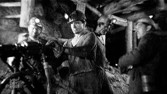 Bergbauleute
