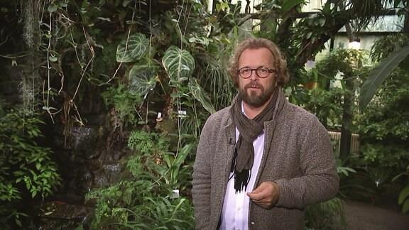 Moderator im botansichen Garten