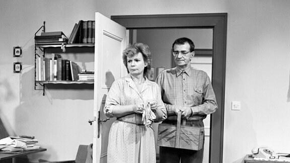 Ingeborg Krabbe (Frau Lehmann) und Gerd E. Schäfer (Herr Lehmann)