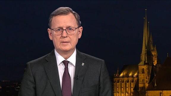 Neujahrsansprache des thüringischen Ministerpräsidenten Bodo Ramelow