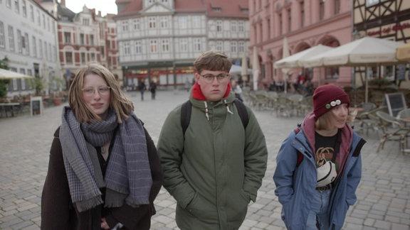 Jugendliche in Quedlinburg