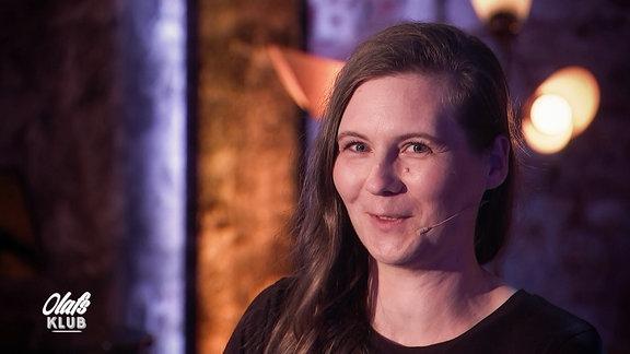 Slampoetin Kirsten Fuchs