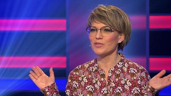 Quickie-Moderatorin Andrea Ballschuh