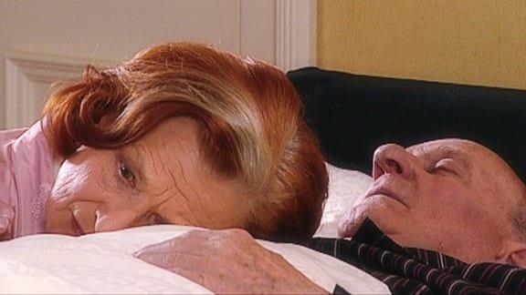 Johanna am Sterbebett von Konrad.