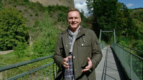 """Axel Bulthaupt präsentiert """"Sagenhaft – Das Sächsische Burgenland"""""""