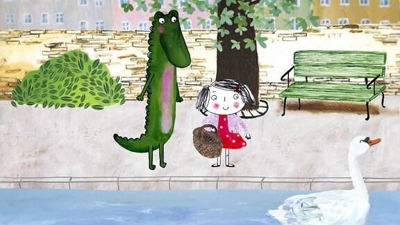 Rita und das Krokodil