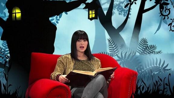 """Anna Fischer liest """"Der Löwe und der Hase"""""""