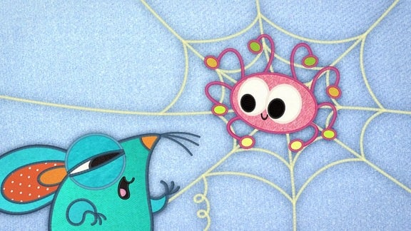 Die Spinne und die Maus.