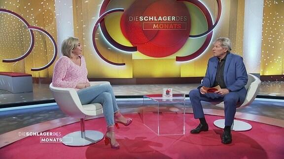 Tanja Lasch zu Gast bei Bernhard Brink