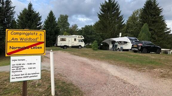 Ein Campingplatz