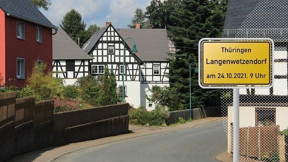 """In Langenwetzendorf im Thüringer Schiefergebirge treffen dörfliche Strukturen auf viel Industrie. Ein """"typisch untypisches Dorf"""" so bezeichnen die Langenwetzendorfer ihren großen Gemeindeverbund bestehend aus 15 Ortsteilen."""
