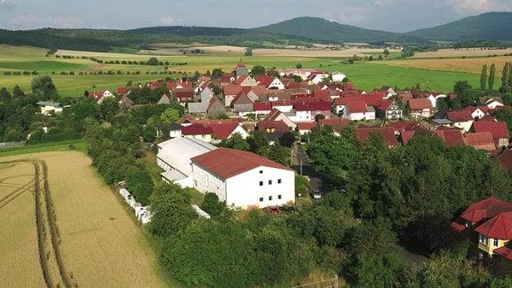 Westenfeld von oben