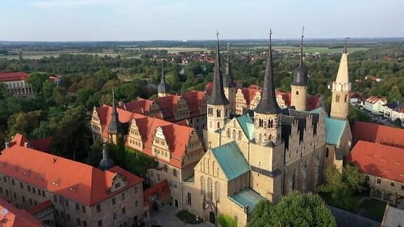 Der Merseburger Dom – Teil desDom-Schloss-Ensembles.