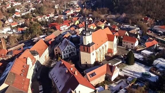 Mansfeld von oben