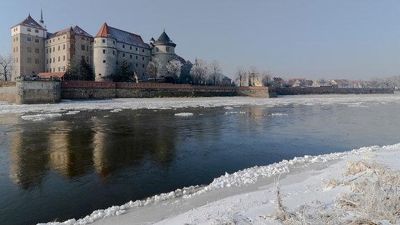 Schloss Hartenfels im sächsischen Torgau