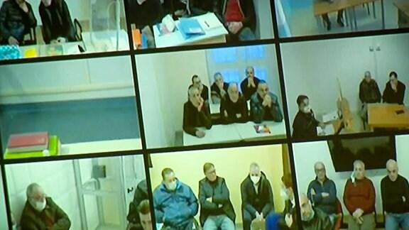 Aufnahmen von Überwachungskameras