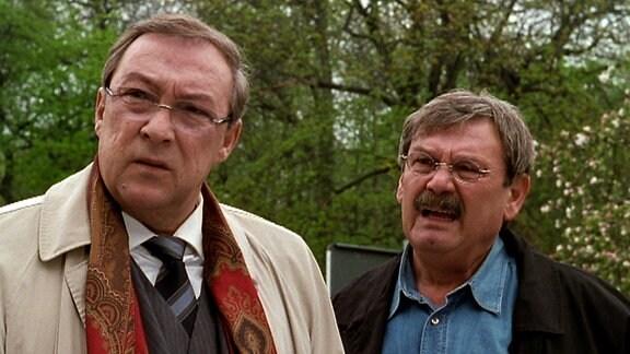 Hauptkommissar Herbert Schmücke und Schneider
