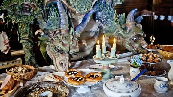 """Szenenbild aus dem Film """"Das Geheimnis des zweiköpfigen Drachens"""""""