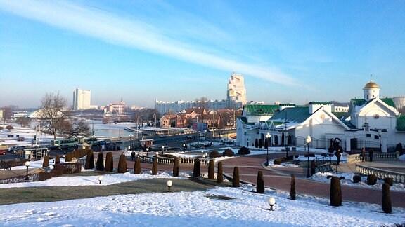 Minsk im Winter