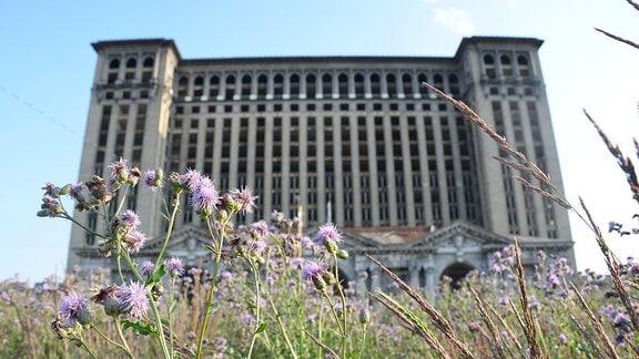 Der ehemalige Hauptbahnhof von Detroit