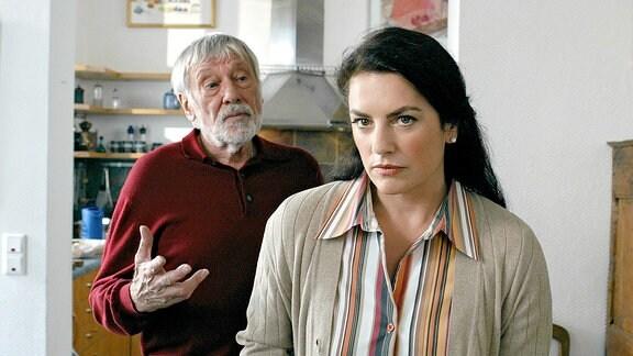 Cleo (Christine Neubauer) und ihr Vater Werner (Dietmar Schönherr)