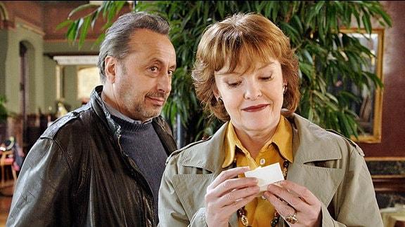 Stephan Busemann (Wolfgang Stumph) und Eva (Katrin Sass)