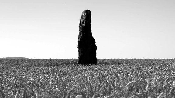 Der Menhir von Benzingerode