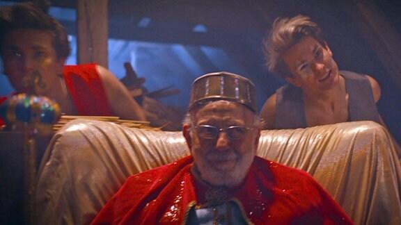 Filmszene - König Opa
