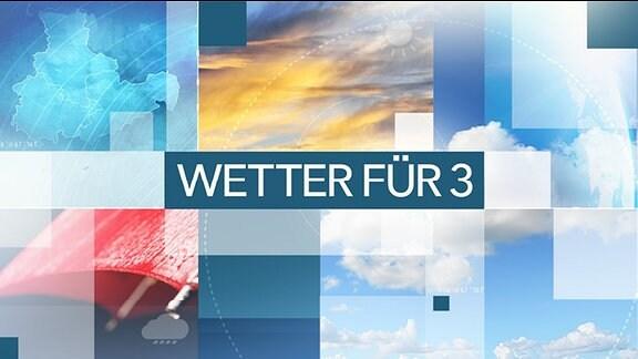 Logo der Sendung Wetter für 3