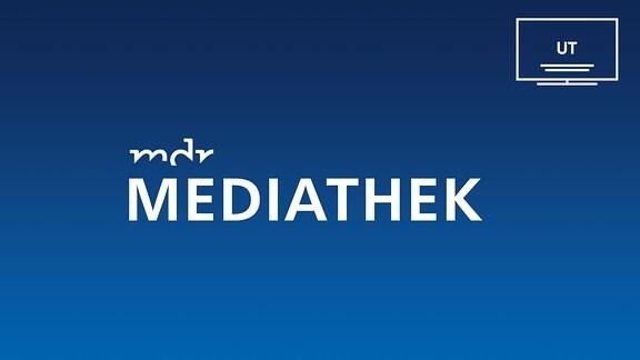 Mediathek mit dem Logo für Untertitelung