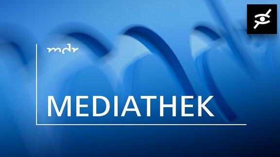 Mediathek mit dem Logo für Audiodeskription
