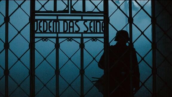 Lagertor des KZ Buchenwald