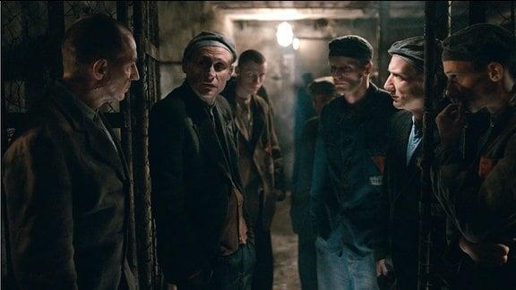 Häftlinge im KZ Buchenwald