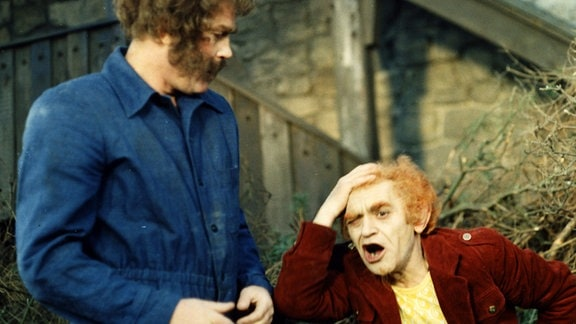 Rumpelstilzchen als Siegfried Seibt und Riese als Stefan Lisewski