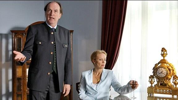 Konstantin (Herbert Knaup) und Charlotte (Katja Riemann)