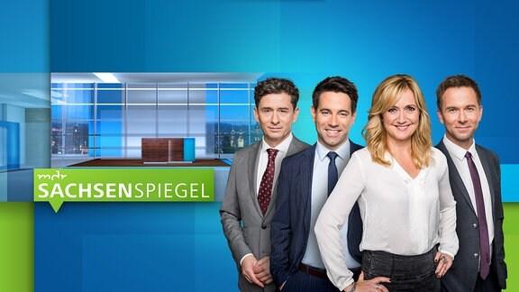 MDR SACHSENSPIEGEL - mit den Moderatoren Andreas F. Rook, Daniel Johé, Anja Koebel und Tino Böttcher
