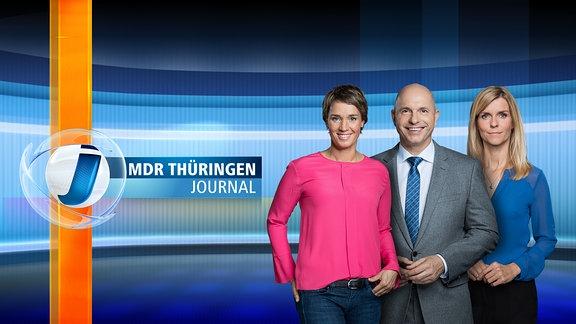 THÜRINGEN JOURNAL - mit den Moderatoren Aline Thielmann, Steffen Quasebarth und Susann Reichenbach