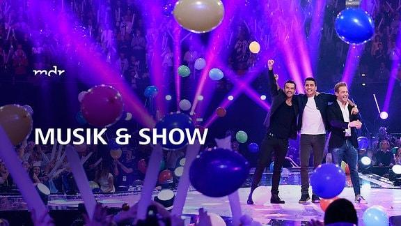 Musik & Show - Florian Silbereisen mit Klubbb3 bei den Schlager-Champions
