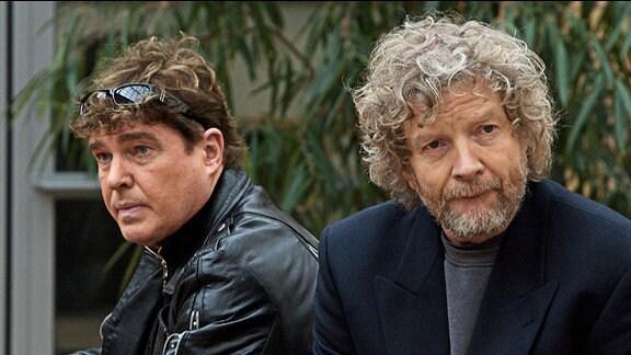 Frank Schöbel als Rocky und Christian Steyer als Johnny