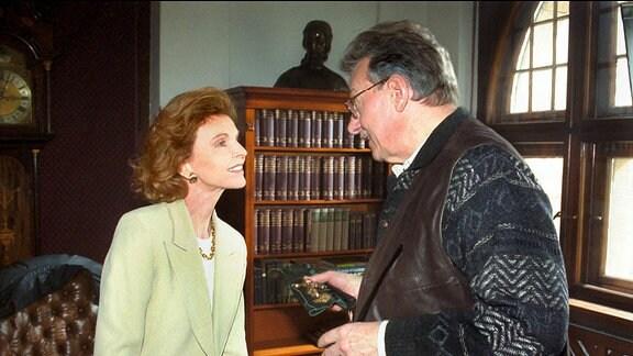 Herzog Georg von Sachsen-Grunau (Friedrich Eberle) und seine Frau Anna (Jutta Kammann)