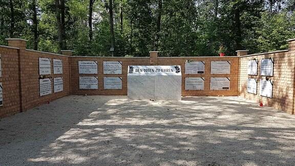 Gedenken des BDV im Wald der Erinnerung in Potsdam