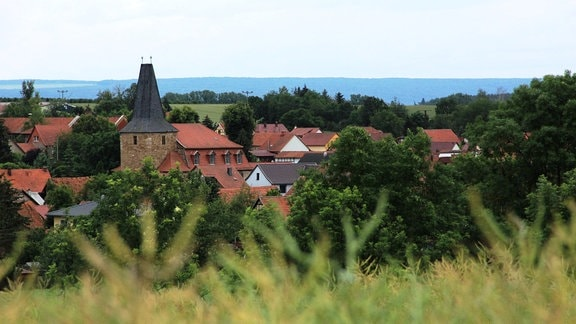Dorfansicht Körner im Unstrut-Hainich-Kreis