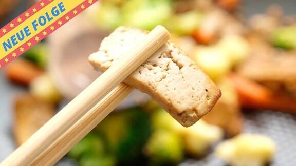 Gemüse und Tofu