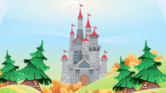Illustration - Eine Burg