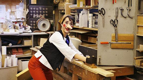 Barbara (Deutsche Sängerin). Musicalrolle als Pinocchio in Pinocchio