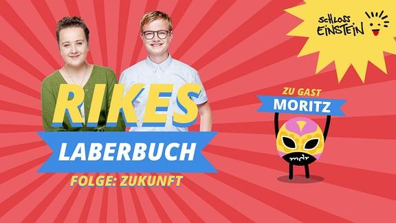 Folgenbild zum Schloss Einstein-Podcast mit Rike und Moritz.