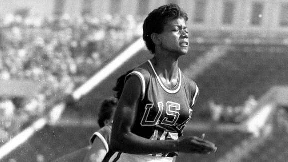 Olympiasiegerin Wilma Rudolph