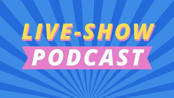 Teaserbild mit Schriftzug für den Tweens Live-Show Podcast.