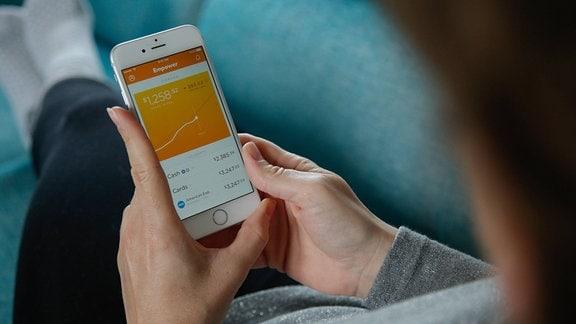 Banking-Apps auf dem Smartphone