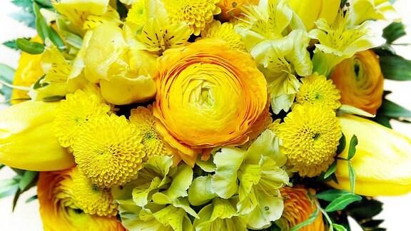 bunter Blumenstrauss